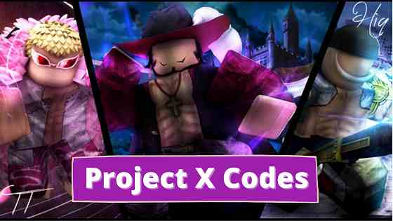 Project x codes